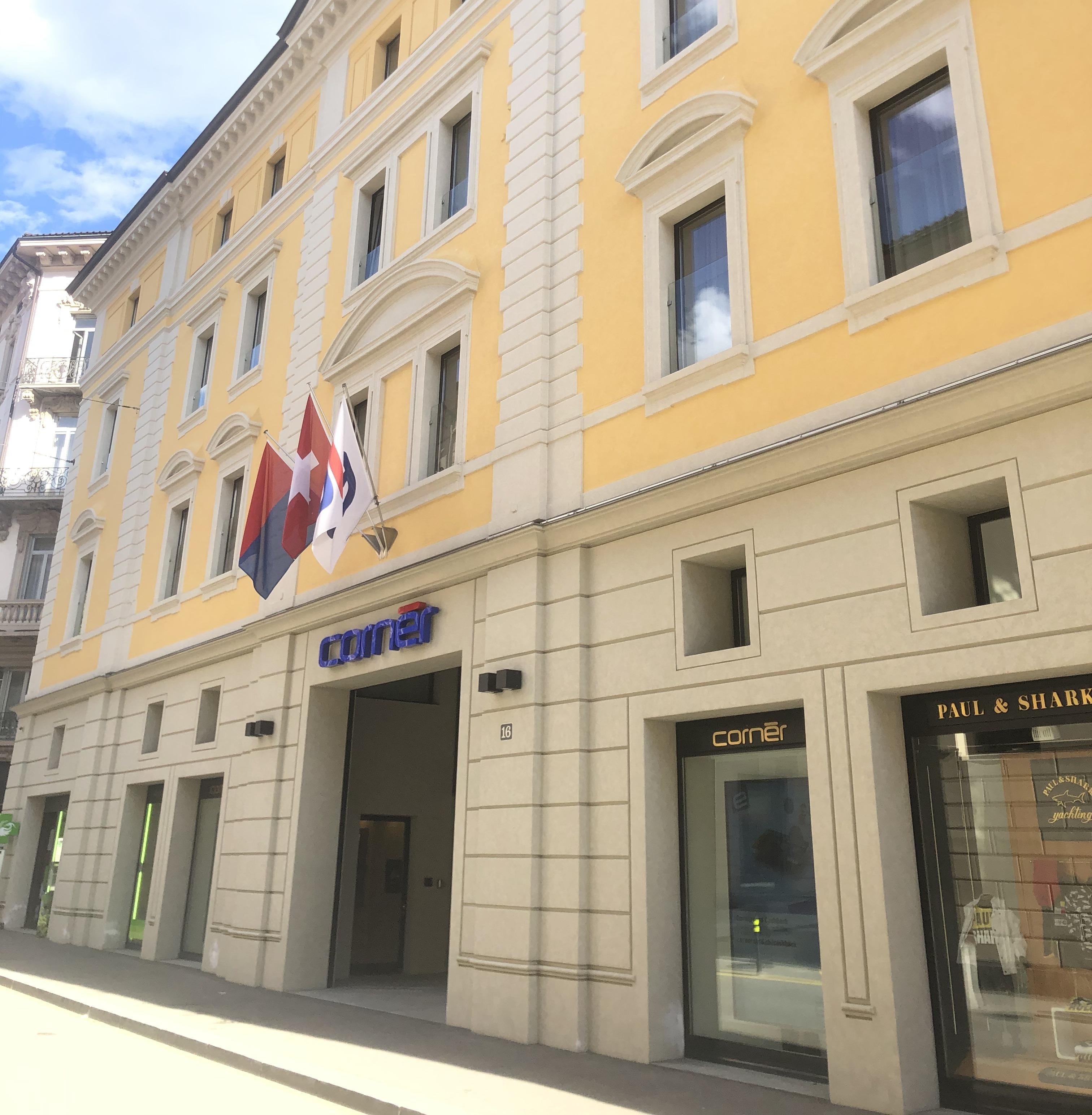 Cornèr Banca Via Canova, Lugano