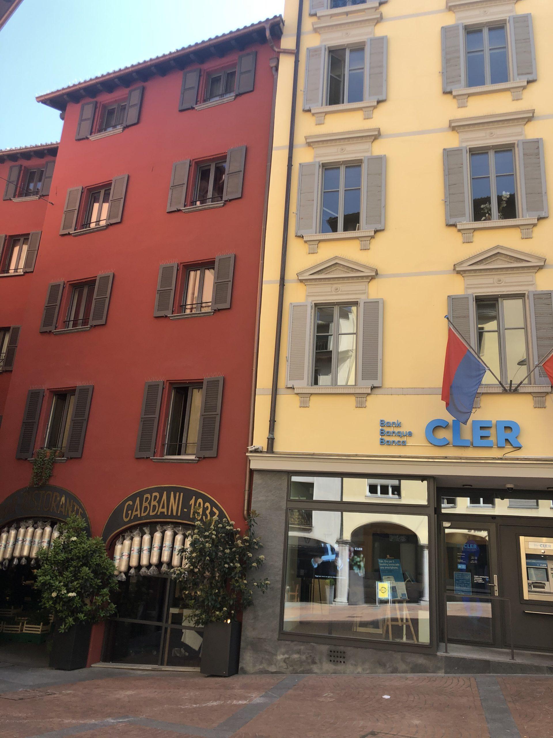 Edificio Gabbani e Banca Coop, Lugano