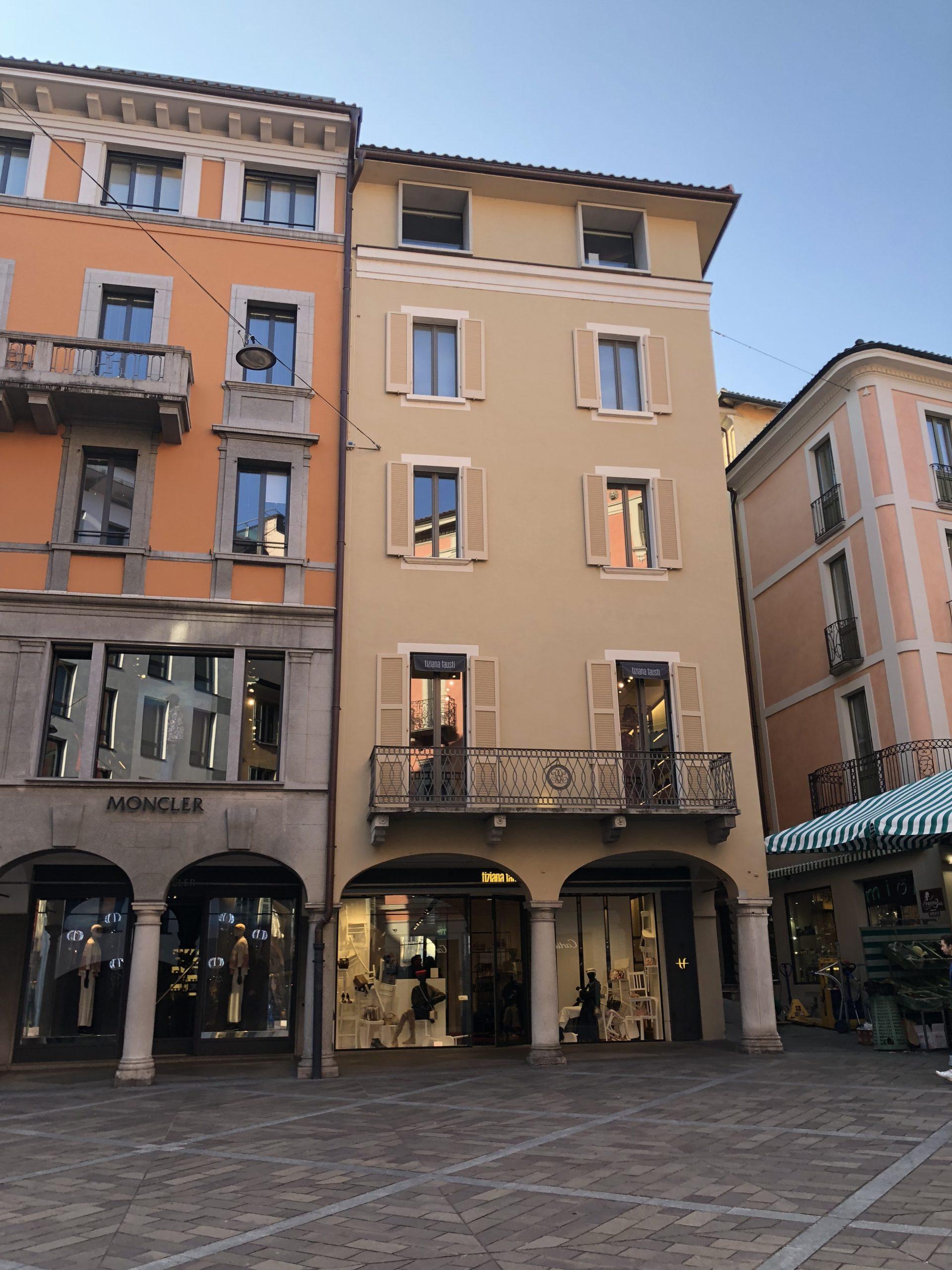 Stabile piazza Maraini, Lugano