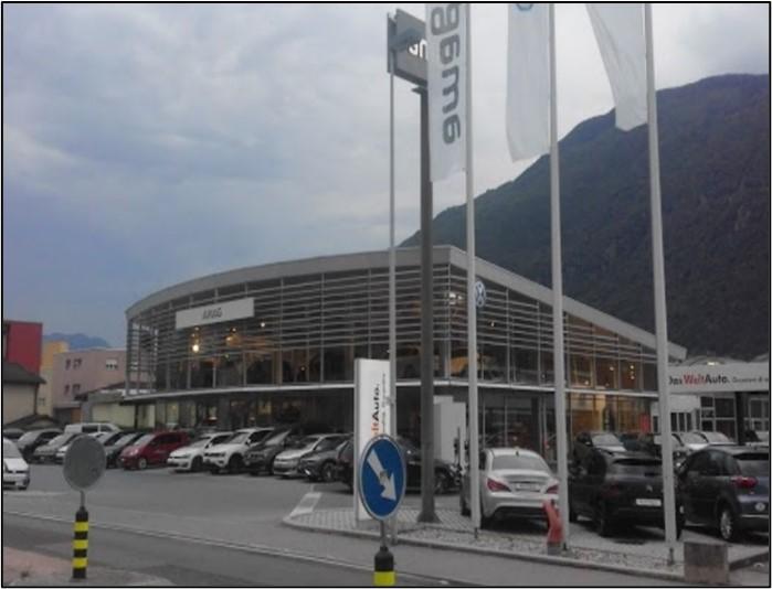 Ristrutturazione AMAG Bellinzona